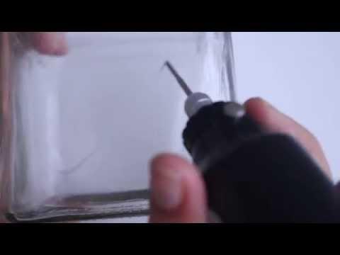 Zelf Spiegel Graveren : Diy pakket zelf glas graveren youtube