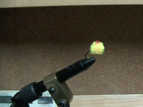 How to tie a Yarn Fly for trout fishing. Fly tying made easy.