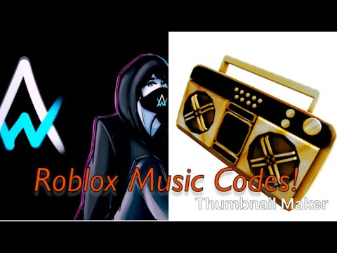 Roblox - Alan Walker Alone Song Code ID | Doovi