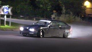 Tuner Cars ARRIVING at a Car Meet - October 2019