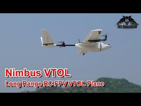 Nimbus Long Range Surveillance VTOL Pro with HD Video System