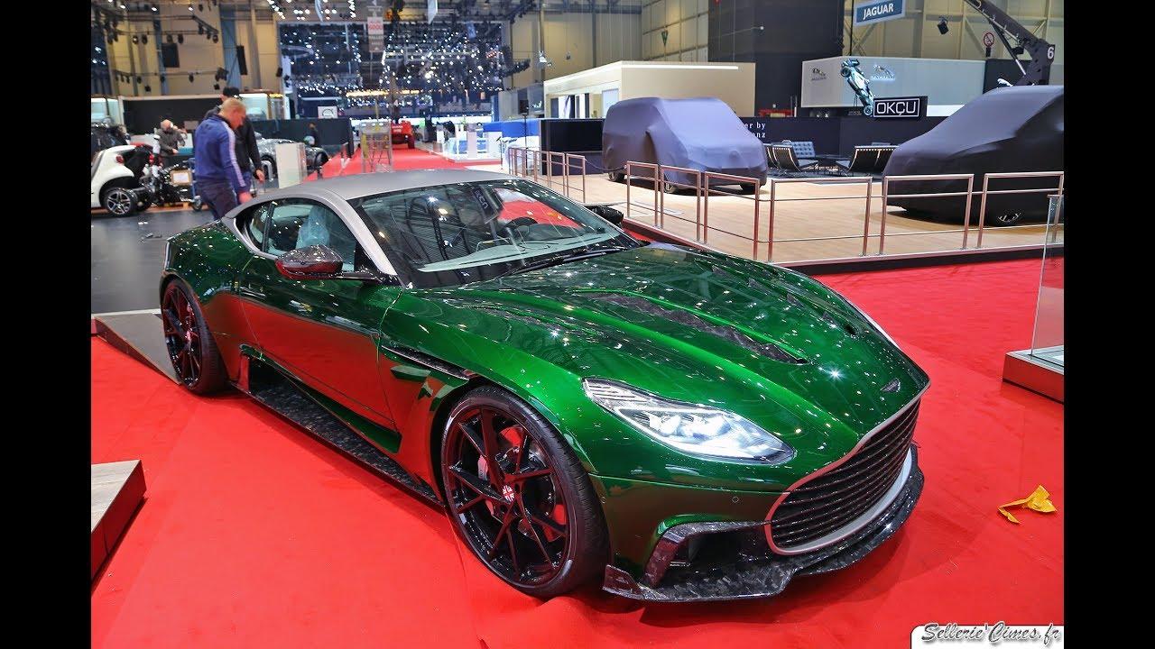 Aston Martin Db11 Mansory Cyrus Driving Loud Sound Youtube