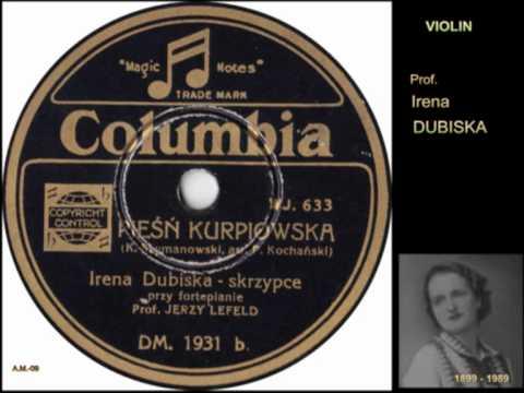 SZYMANOWSKI.Violin-DUBISKA.Song  folk Kurpie Poland VTS_01_1.VOB