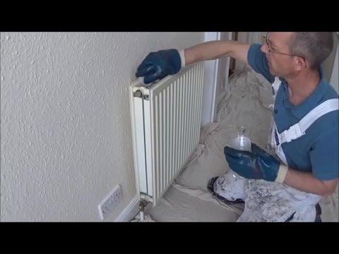 Preparing And Priming Radiators