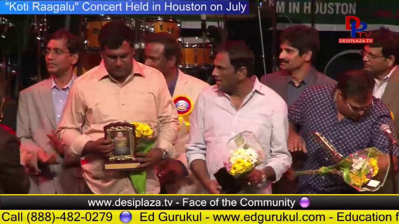 Felicitation of Board of Directors / donars for Telugu Bhavan - Houston
