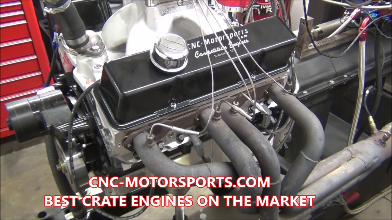 615+ Horsepower SB Chevy 427 Crate Engine by CNC-Motorsports