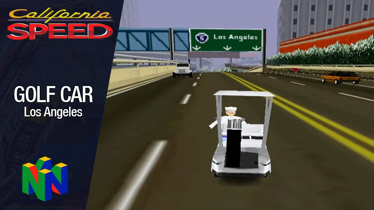 California Sd - Golf Cart - Los Angeles (N64) - YouTube on plow games, dune buggy games, bus games, dinner games, grill games, golf ball games, driving range games, hot tub games,