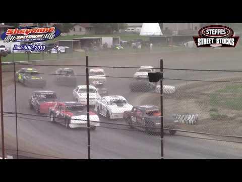 Sheyenne Speedway WISSOTA Street Stock A-Main (6/30/19)