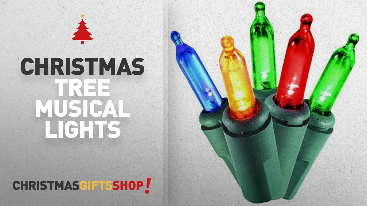 Most Popular Christmas Tree Musical Lights: Holiday