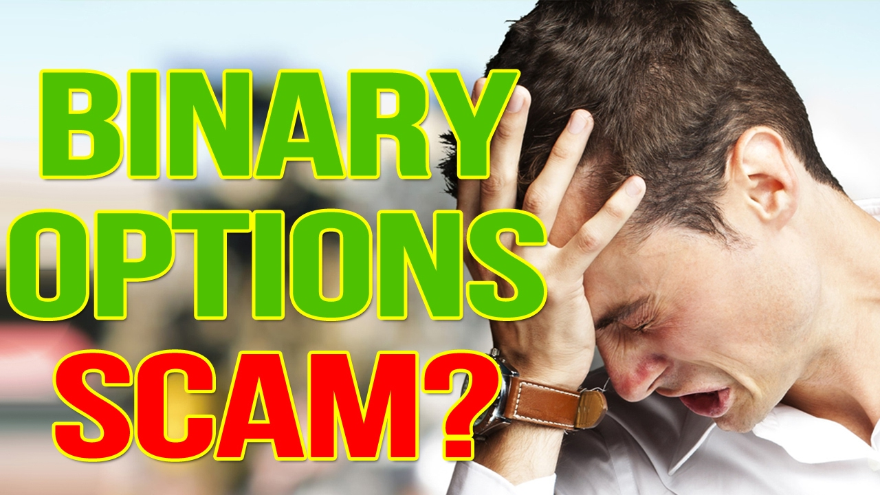 Binary option scams