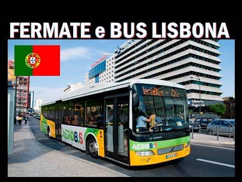 BUS A LISBONA-PORTOGALLO !!!! ( pagano tutti non come da noi)