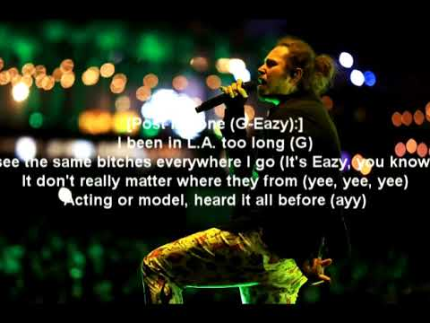Post Malone - Same Bitches (feat. G-Eazy & YG) [Lyrics & Meaning]