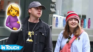Rupert Grint's Girlfriend Georgia Groome Is Pregnant With Baby No. 1