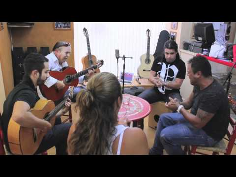 Flamenco - Live performance for Antonio Bernal Guitars in Waypoint Music Shop, Cadiz