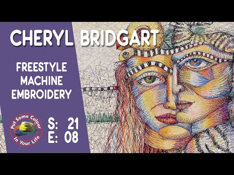 Textile Art With Cheryl Bridgart | Colour In Your Life