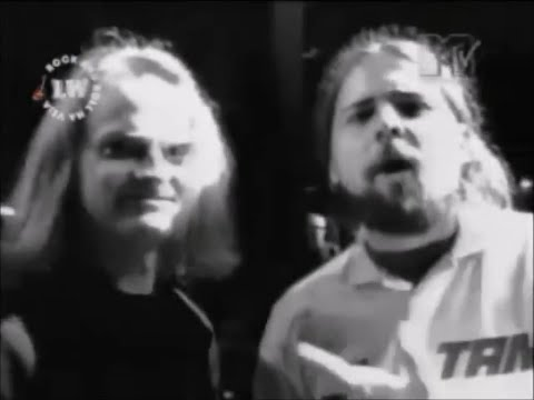 Sepultura - Soundcheck/Procreation (Of the Wicked) with Celtic Frost (MTV 1996)