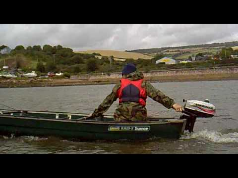 coleman scanoe with 3 3hp outboard
