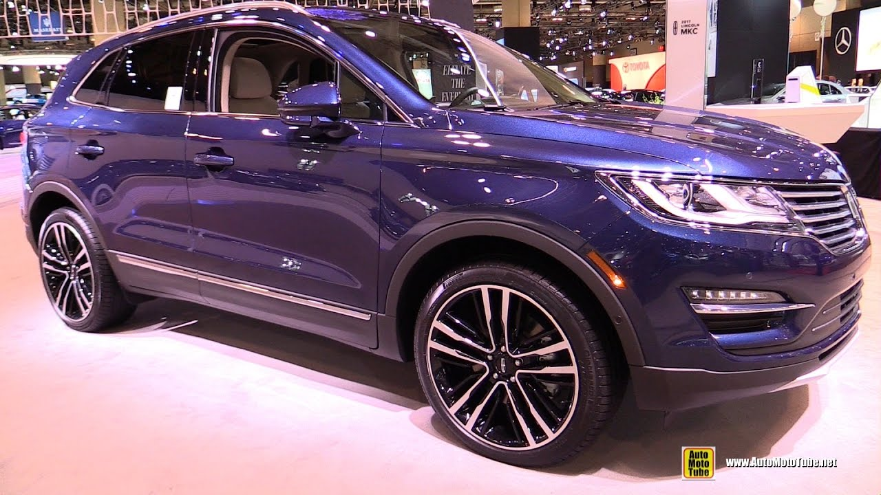 2017 Lincoln Mkc Exterior And Interior Walkaround Toronto Auto Show