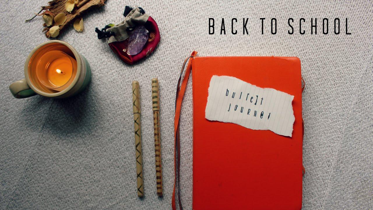 Bullet journal for back to school youtube for Koch 6 backjournal