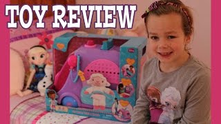 Disney Doc McStuffins Get Better Talking Mobile Clinic Opening and Review