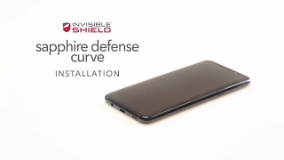 How To Install Sapphire Defense Curve - Samsung Galaxy S8 - Invisible Shield