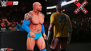 WWE 2K19 ONLINE - Batista vs. CM Punk (2-out-of-3 Falls Match Highlights)