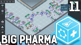 Big Pharma #11 Chaos in der Produktion Der Pillen Fabrik Simulator BETA Gameplay