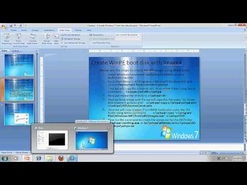 Free Learn Install Windows 7 from network Exam Code 70-680 in Hindi by INT institute