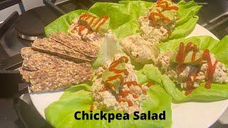 Chickpea Chickenless  Chicken Salad   SD 480p