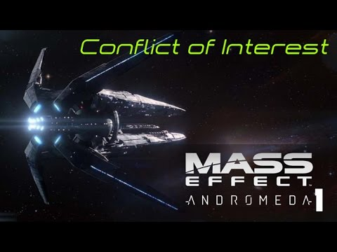"""""""Conflict of Interest""""Mass Effect Andromeda Walk-through #1 Ultra settings"""