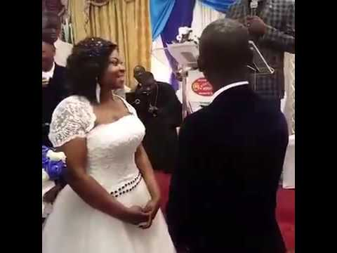 agya koos wedding you may kiss your bride ���������� youtube