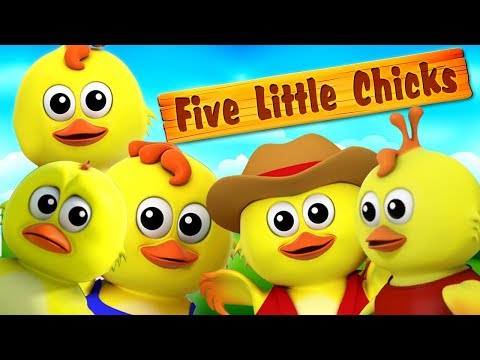 lima anak ayam kecil   sajak kanak-kanak   Five Little Chicks