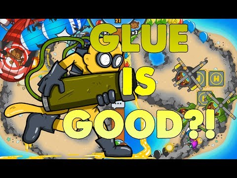 Can You Actually Use The GLUE GUNNER? Bloons TD Battles