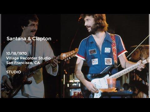 Santana and Derek and the Dominos Jam - 1970-10-18, Village Recorder Studio, San Francisco CA