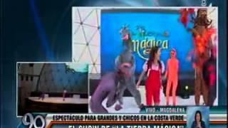 Microondas Latina: El Show de La Tierra Mágica
