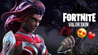 ❤️ Fortnite Battle Royale Valor Skin ❤️ | with Raptor and Pancho❤️