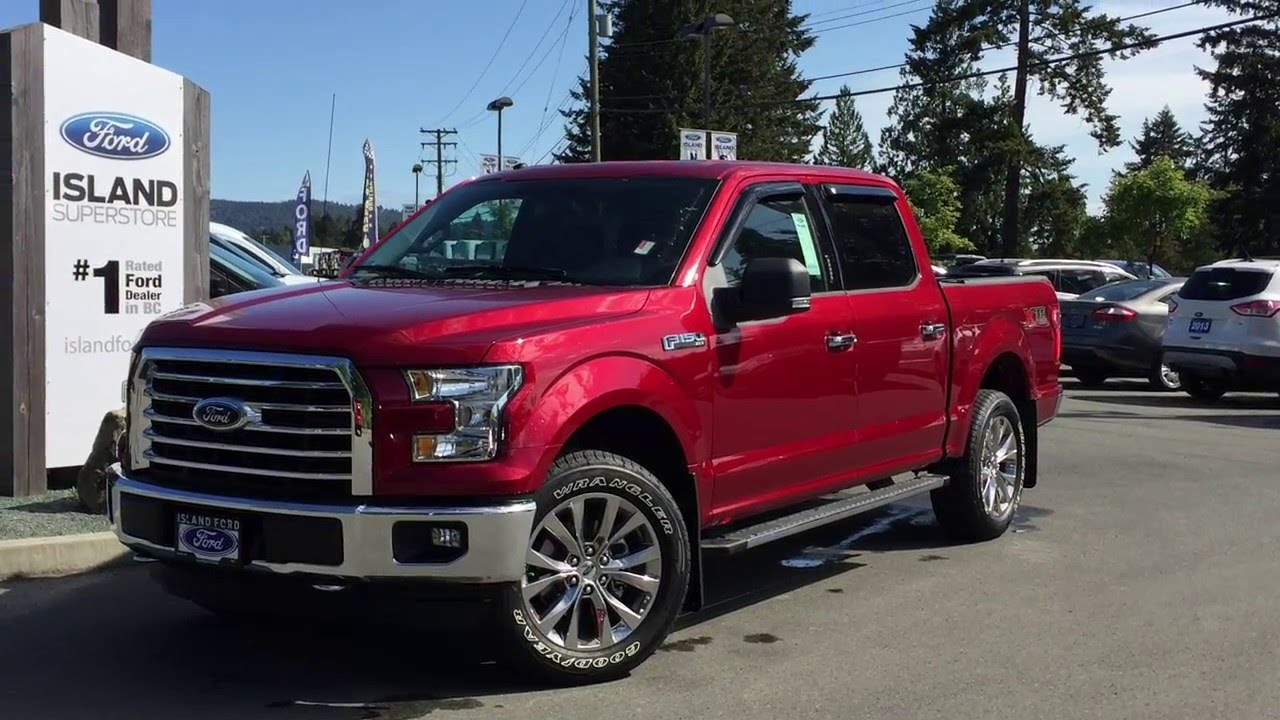 2016 Ford F 150 Xlt Xtr Supercrew 4x4 Review Island