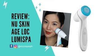 HONEST REVIEW: Nu Skin Ageloc Lumispa | Nica Reyes 👑