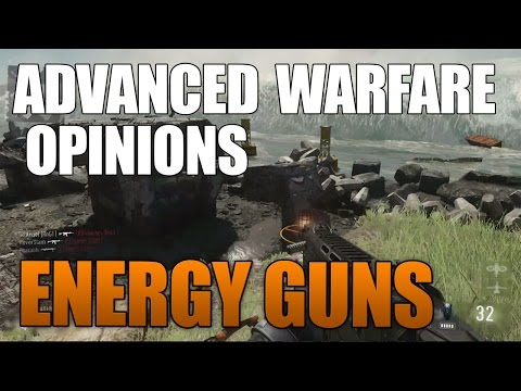 Advanced Warfare Opinions: Energy Guns