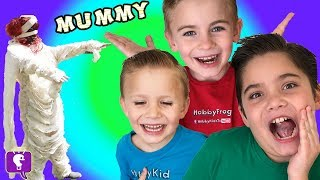 Mummy Mommy Makes Kids Do Chores For Imaginext Toys! Reviews + Video Game Play by HobbyKidsTV