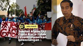 Jokowi: UU Cipta Kerja perbaiki hidup pekerja