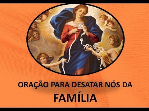 Oração para desatar nós da família