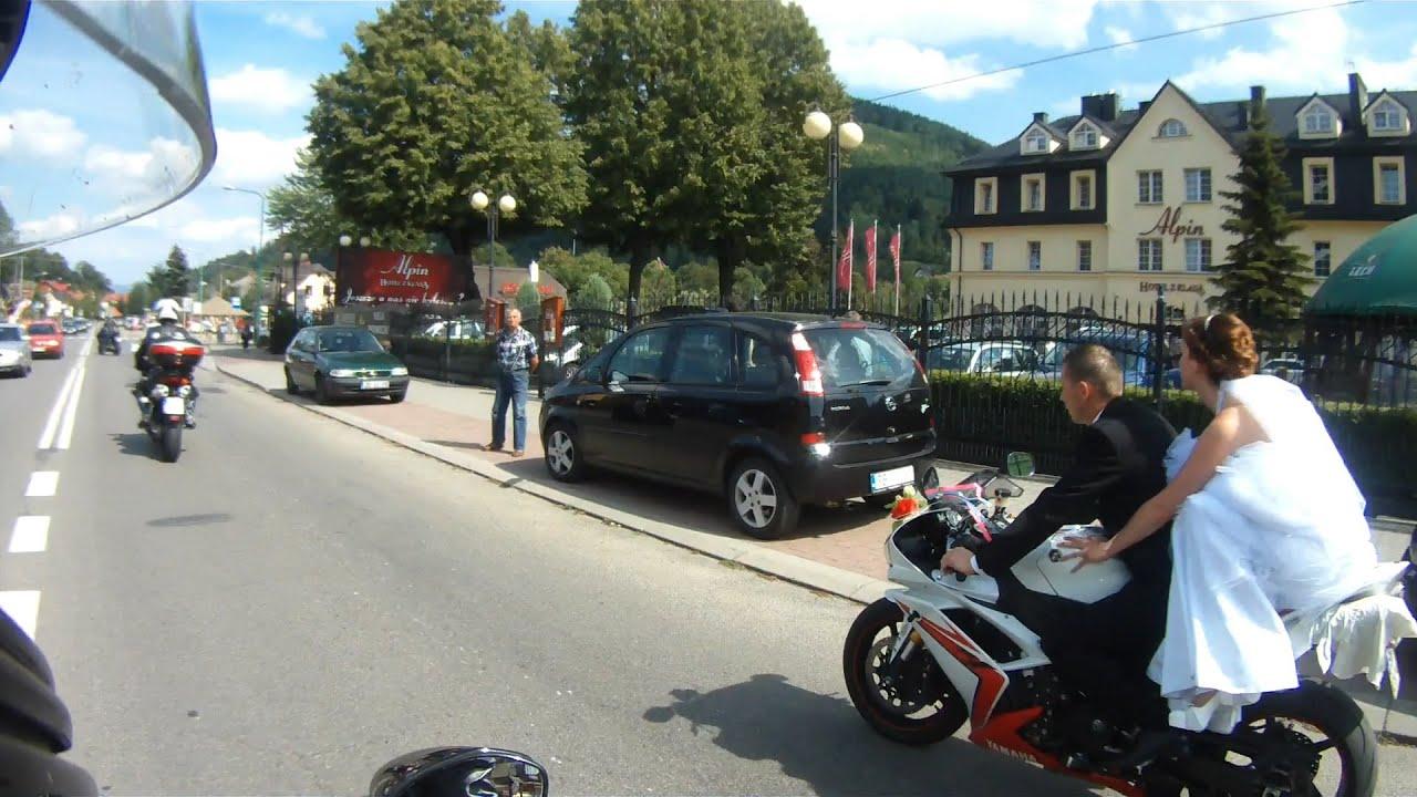 Monika I Mirek ślub Motocyklistów Youtube