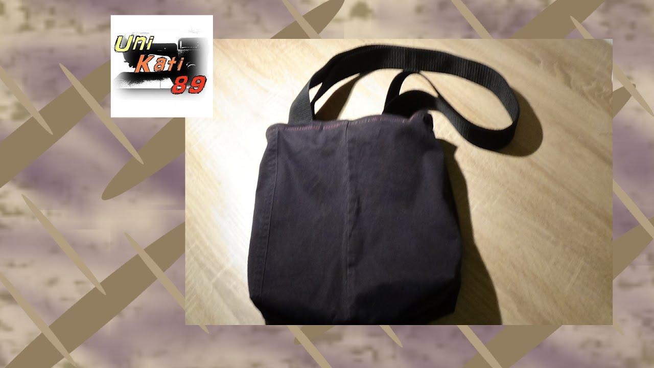 handtasche nisha tasche n hen anleitung diy upcycling inkl schnittmuster unikati89 youtube. Black Bedroom Furniture Sets. Home Design Ideas