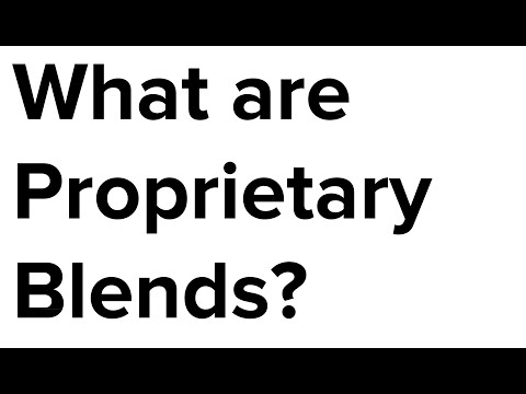 What are Proprietary Blends in Supplements?