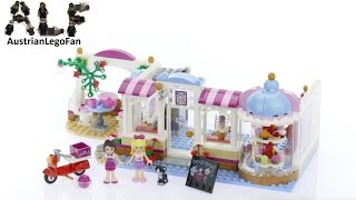 Lego Friends 41119 Heartlake Cupcake Café - Lego Speed Build Review