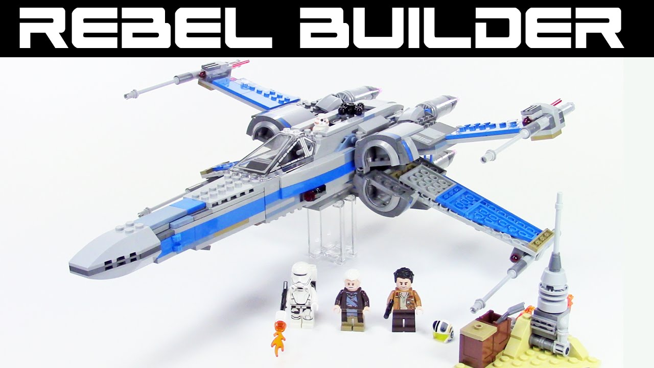 Lego Star Wars Resistance X Wing Fighter Review Set 75149 Youtube 75102 Poeamp039s