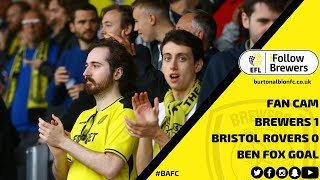 FAN CAM | Ben Fox scores a late winner against Bristol Rovers - watch how the Pirelli reacted