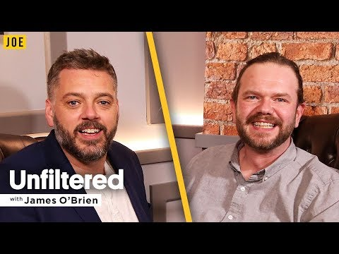 Iain Lee's frank and funny interview with James O'Brien in JOE.co.uk's video podcast Unfiltered