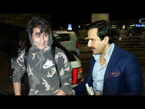 Saif Ali Khan's Son Ibrahim Looks Exactly...